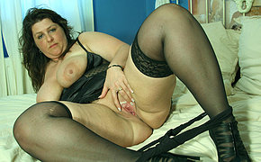 Big mama getting say no to confidential covered with cum