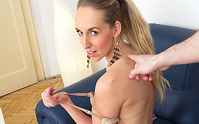 Hot mom doing it in POV style