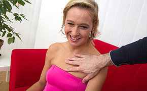 Horny mom fucking and sucking in POV style